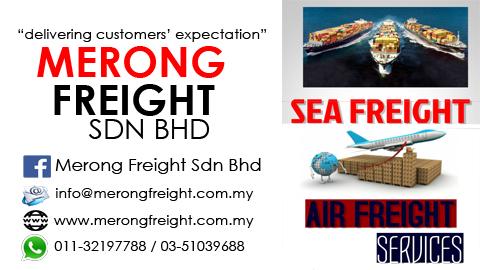 Hantar Barang ke Sabah dan Sarawak