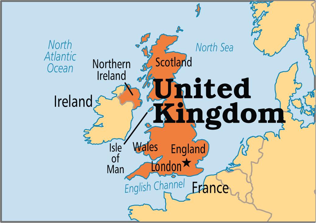 penghantaran barang ke United Kingdom